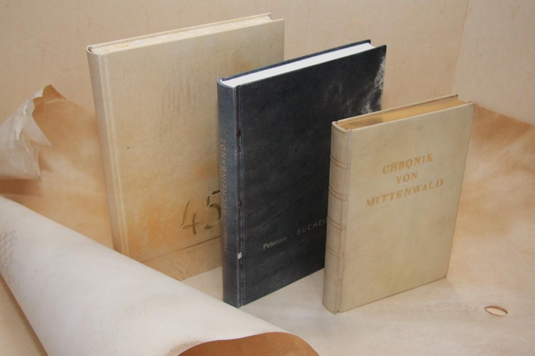 Bücher in Pergament