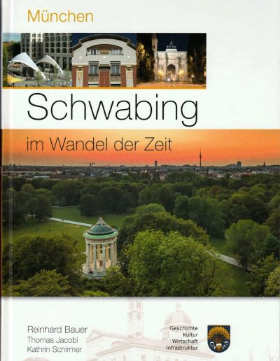 Buchcover Schwabing im Wandel der Zeit