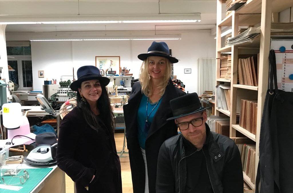 Hutkurse in der Buchwerkstatt